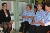 Podelitev sredstev za defibrilator