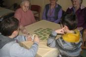 Družabne igre na odd. otroci O.Š V. Perka