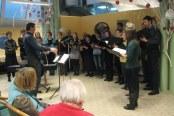 10.01.2014 - Nastop pevskega zbora Šentviški zvon
