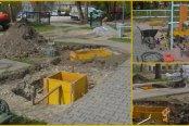 31.03.2014 - Postavljanje temeljev za zunanji fitnes