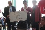 17.03.2014 - Podelitev sredstev akcije Manj svečk za manj grobov